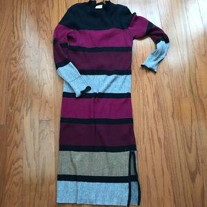 ASOS Striped Sweater Dress